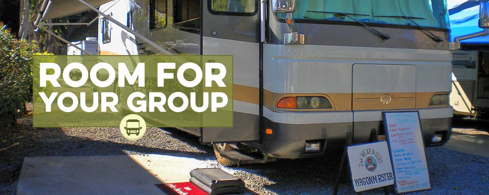 Room for your RV Groups & Rallies at Circle RV Resort