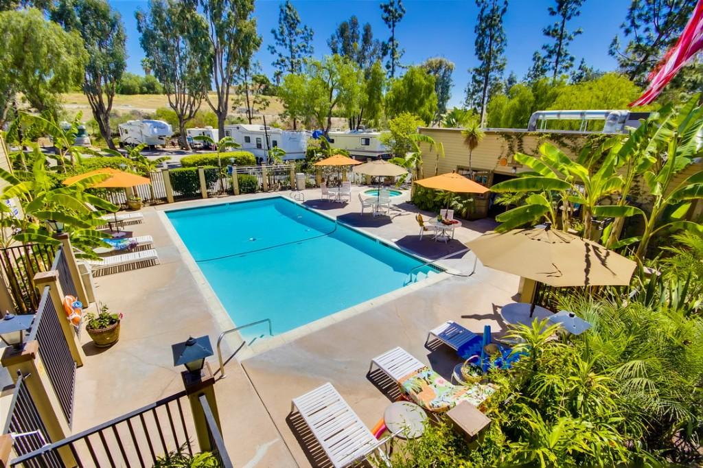 Circle Rv Resort Is Located In Beautiful El Cajon California