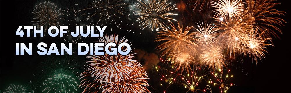 Spend 4th of July in San Diego