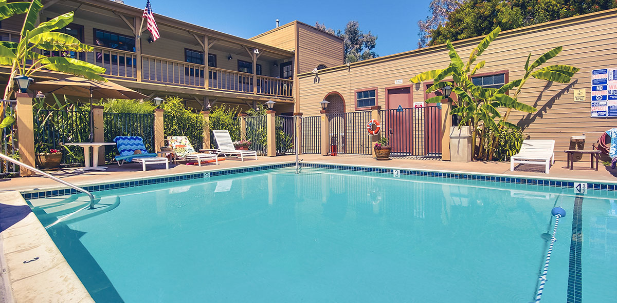 Enjoy the pool at Circle RV Resort in El Cajon